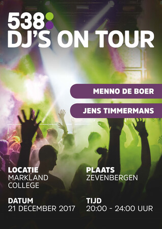 21 december 538 DJ'S ON TOUR