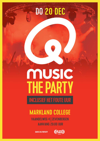 Save the date! Q-music The Party 20 december